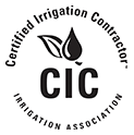Cartified  Irrigation Contractor Logo